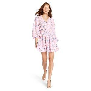 NWT LOVESHACKFANCY for Target Esme Wrap Dress Pink